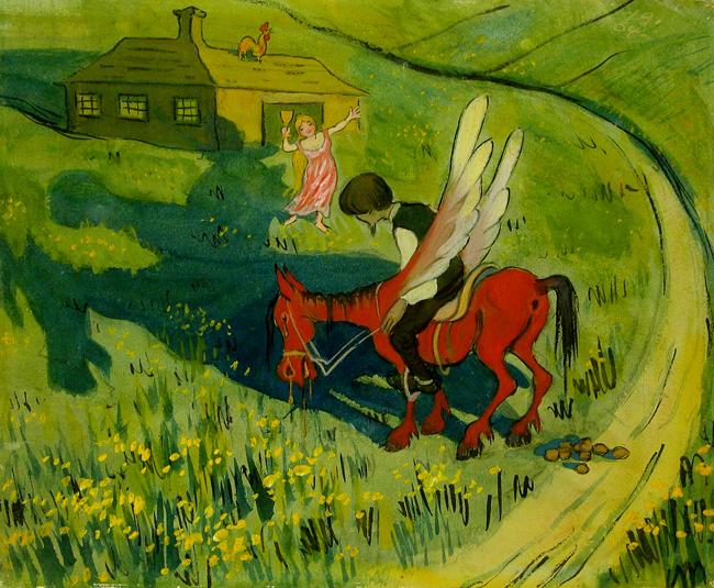Ivar_Arosenius_Vardshuset_vid_vagen_1904