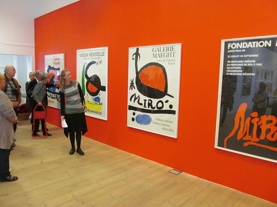 Joan Miro i Kristianstads konsthall