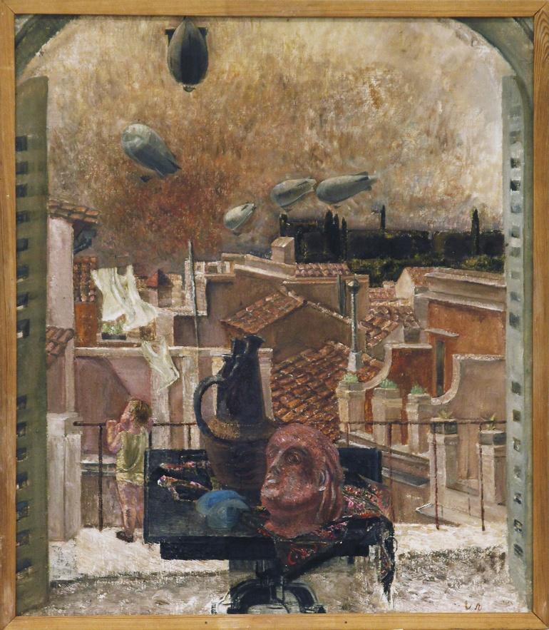 På terassen, Rom av Vera Nilsson