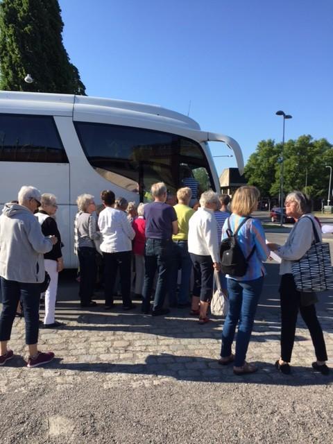Konstresa till Sörmland