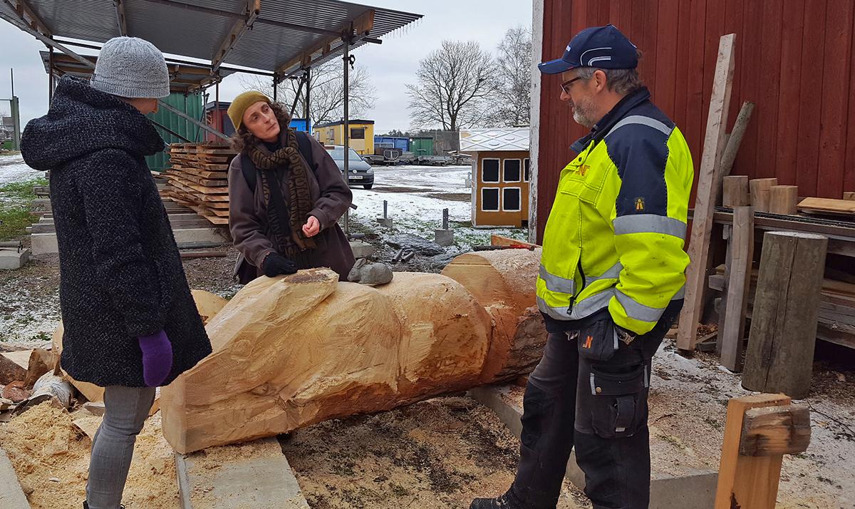 Bussutflykt till Norrköpings nya offentliga konstprojekt